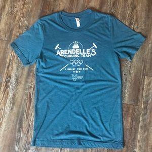 Arendelle's Curling Team Frozen Disney T-shirt